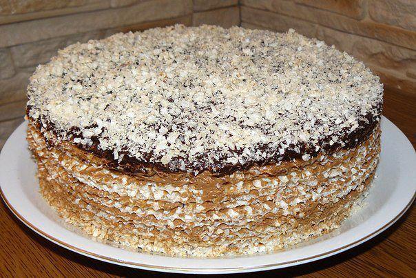 Вафельные тортики рецепты